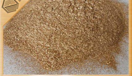 Как превратить камень в золото бронзовой пудрой