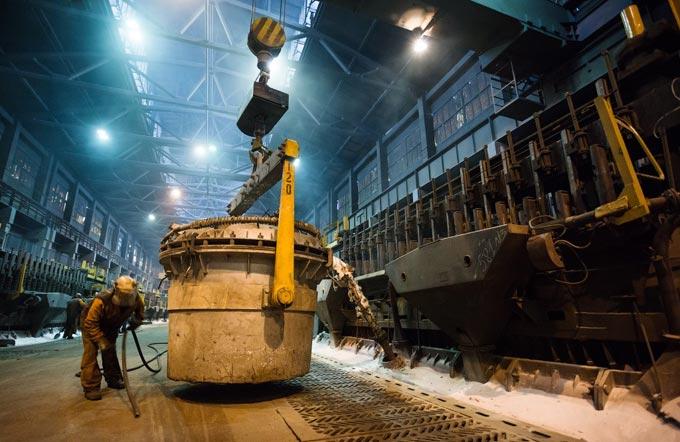 производство алюминия на КРАЗе