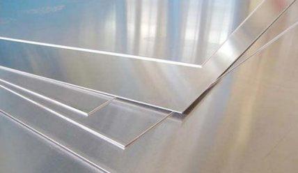 Производство листов алюминия АД1Н