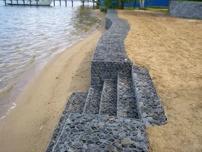 укрепление берегов