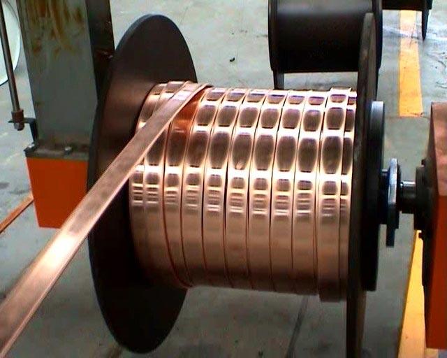 производство медной шины
