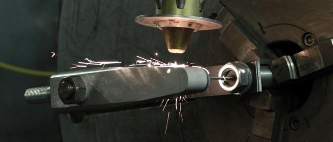 лазерная наплавка поверхности металла
