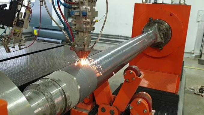 технология лазерной наплавки