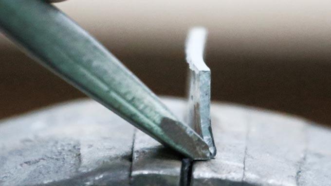 ручная рубка металла