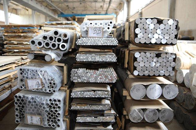 хранение алюминиевого проката