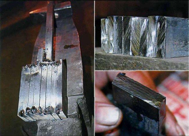 производство дамасской стали