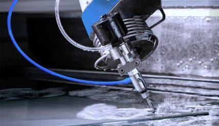 Резка металла гидроабразивным методом