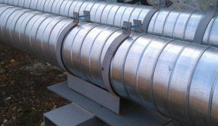 Особенности и специфика скользящих опор для трубопроводов