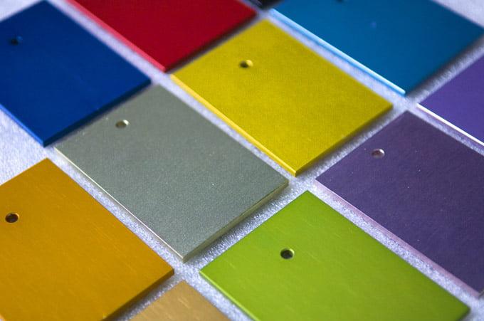 порошковая покраска алюминия