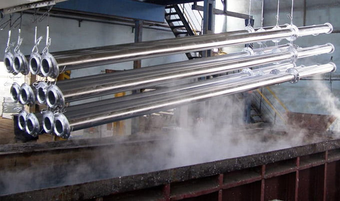горячее цинкование металла