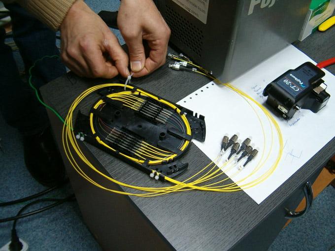оборудование для сварки оптоволокна
